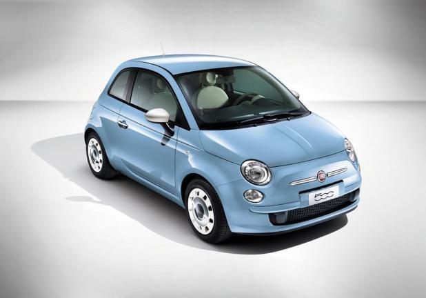 Fiat 500 Color Therapy azzurra