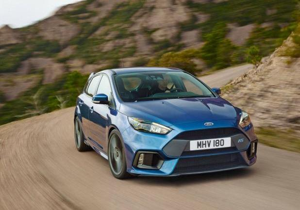 Ford Focus RS potenza 350 CV