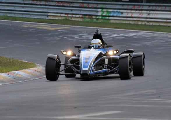 Formula Ford 1.0 EcoBoost record al Nurburgring 2012 anteriore