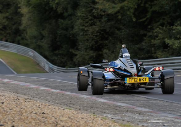 Formula Ford 1.0 EcoBoost record al Nurburgring 2012 posteriore