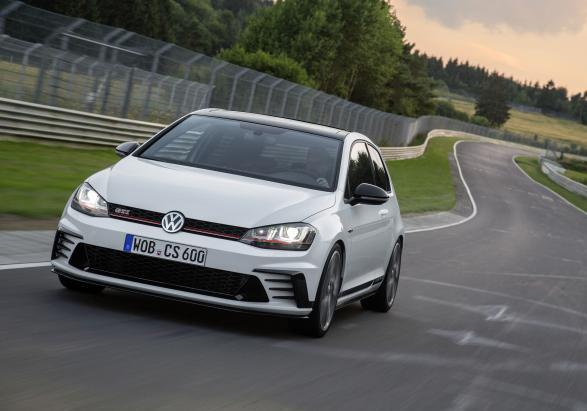 Golf GTI Clubsport nurburgring anteriore