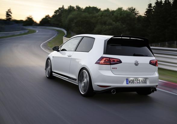 Golf GTI Clubsport posteriore