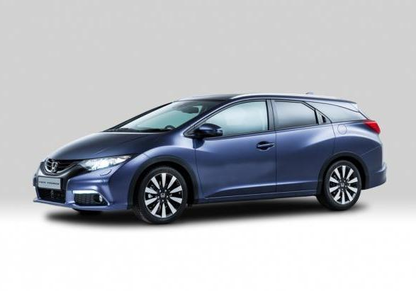 Honda Civic Tourer tre quarti anteriore