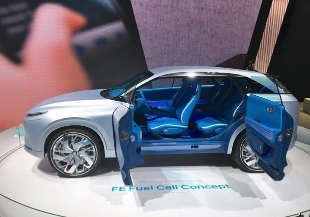 Hyundai FE Fuel Cell Concept Ginevra 2017