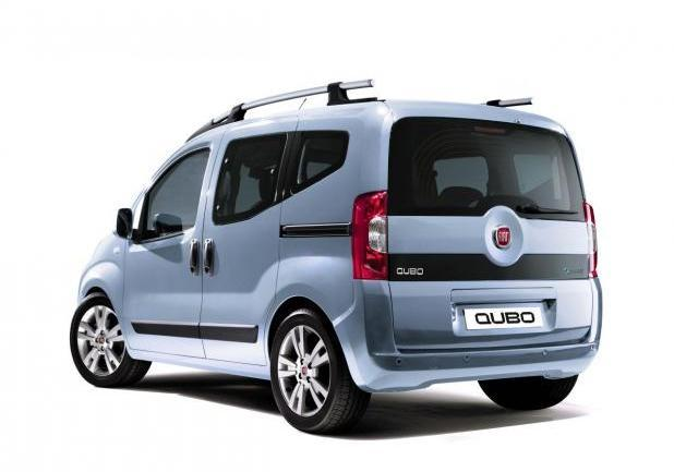 Incentivi auto Fiat Qubo Natural Power tre quarti posteriore