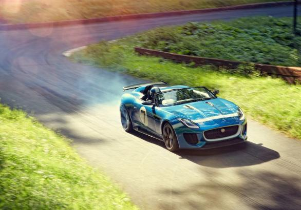 Jaguar Project 7 tre quarti anteriore lato destro