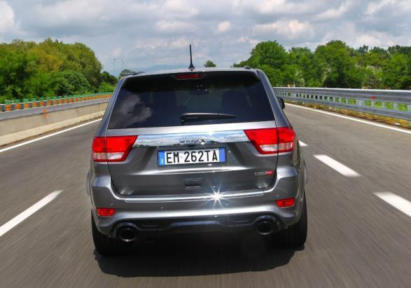 Jeep Grand Cherokee SRT coda