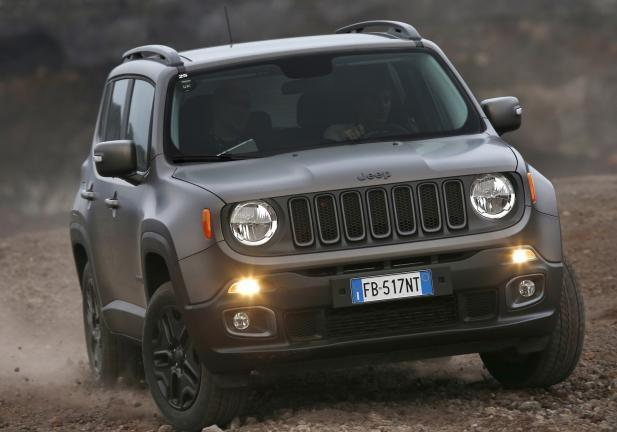 Jeep Renegade Night Eagle frontale