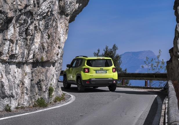 Jeep Renegade Upland posteriore
