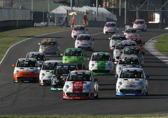 Make it your race 2012 Trofeo Abarth 500 Selenia Italia