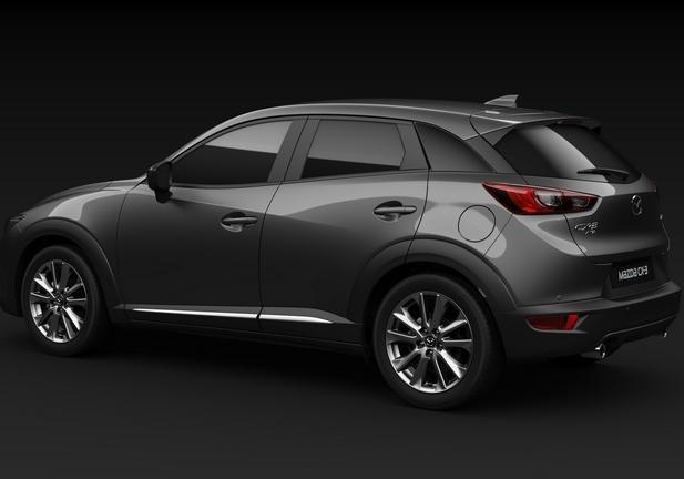 Mazda Cx-3 Luxury Edition tre quarti posteriore