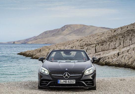 Mercedes-Benz SLC frontale