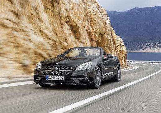 Mercedes-Benz SLC tre quarti