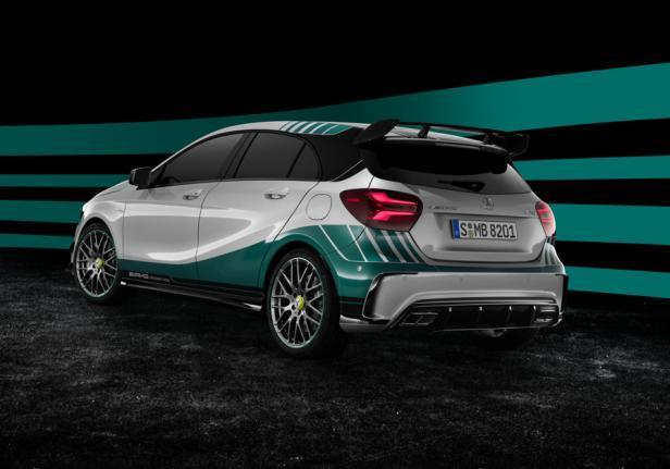 Mercedes Classe A AMG Special Edition posteriore