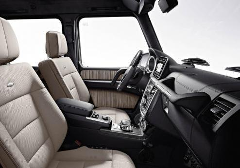 Mercedes Classe G restyling 2012 abitacolo