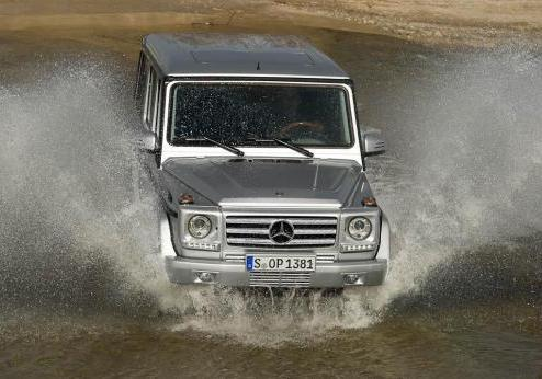 Mercedes Classe G restyling 2012 anteriore