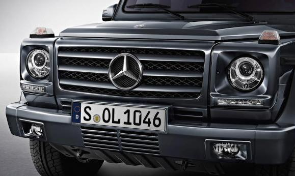 Mercedes Classe G restyling 2012 frontale
