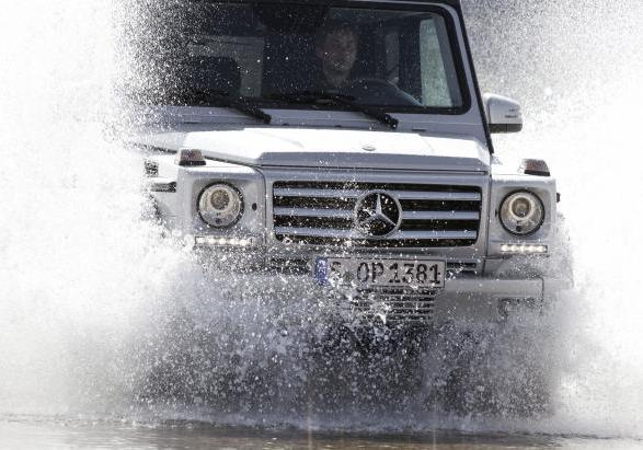 Mercedes Classe G restyling 2012