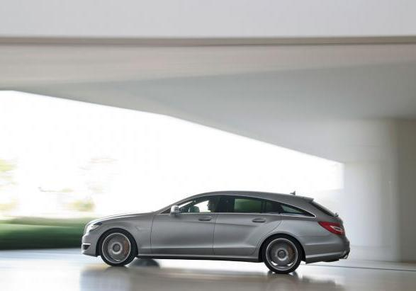 Mercedes CLS Shooting Brake 63 AMG profilo