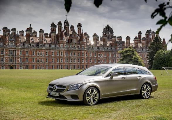 Mercedes CLS Shooting Brake restyling 2014