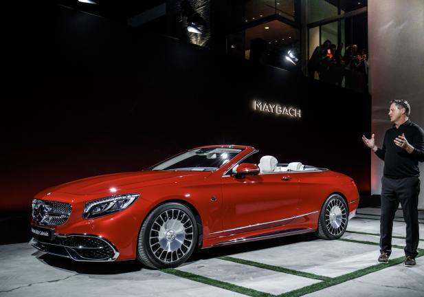 Mercedes Maybach 650 S tre quarti laterale