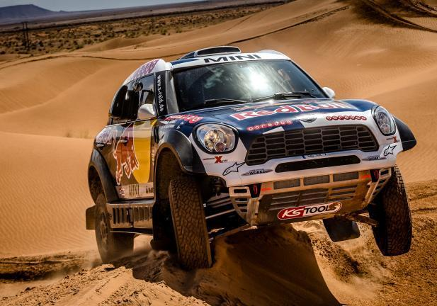 Mini ALL4 Dakar 2016