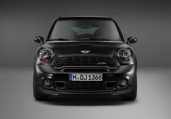 Mini Paceman Frozen Black metallic anteriore