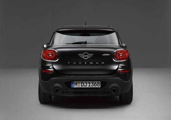 Mini Paceman Frozen Black metallic posteriore
