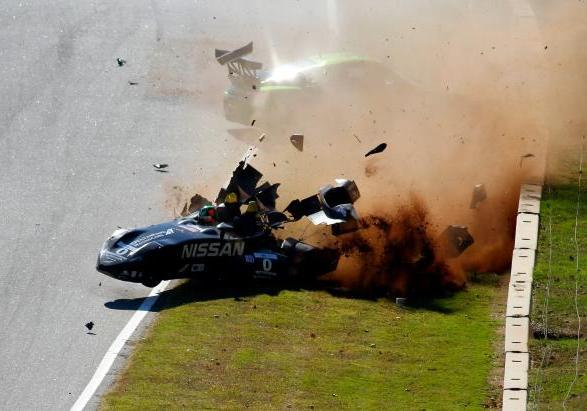 Nissan DeltaWing incidente impatto