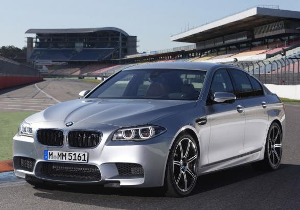 Nuova BMW M5 con Competition Package