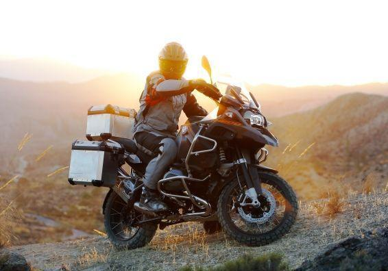 Nuova BMW R 1200 GS Adventure 2014 tre quarti anteriore destro