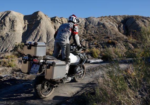 Nuova BMW R 1200 GS Adventure 2014 tre quarti posteriore