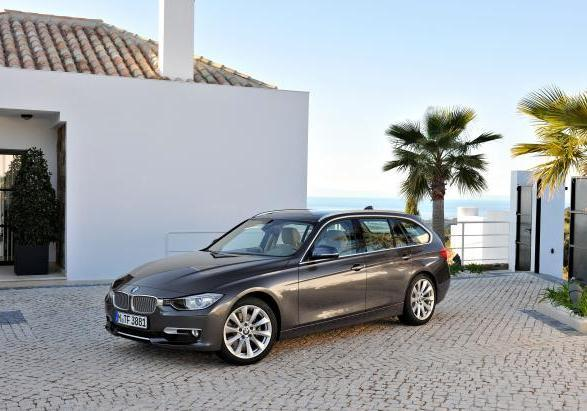 Nuova BMW Serie 3 330d Touring 2012