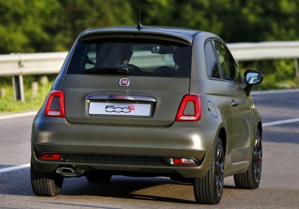 Foto Nuova Fiat 500 S Posteriore Patentati