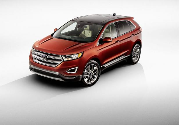 Nuova Ford Edge frontale