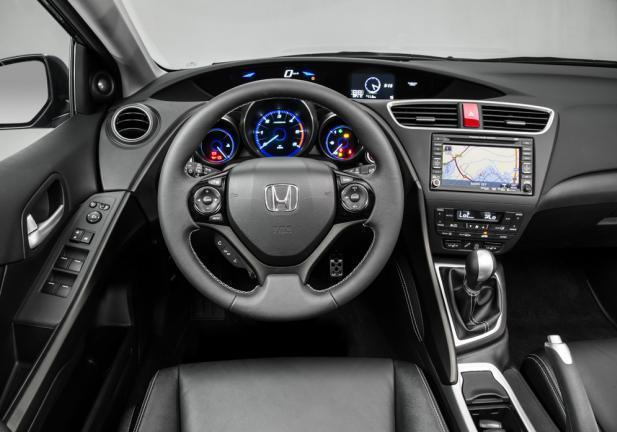 Nuova Honda Civic Tourer interni