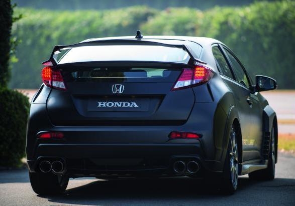 Nuova Honda Civic Type R 2015