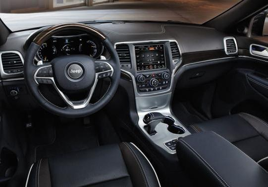 Nuova Jeep Grand Cherokee my 2014 interni