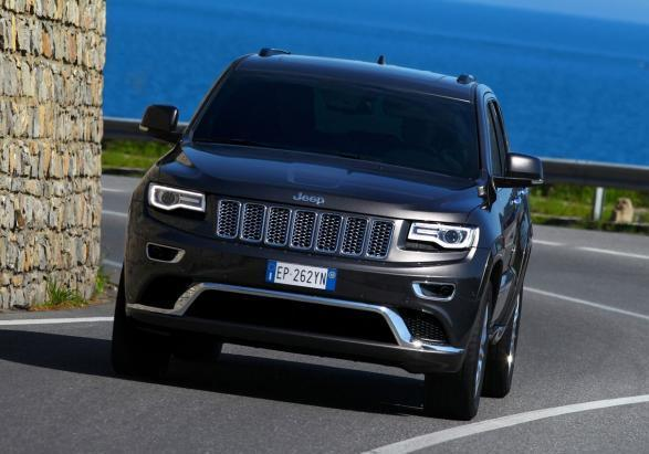 Nuova Jeep Grand Cherokee Summit anteriore