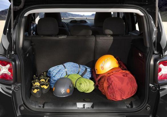 foto nuova jeep renegade bagagliaio patentati. Black Bedroom Furniture Sets. Home Design Ideas