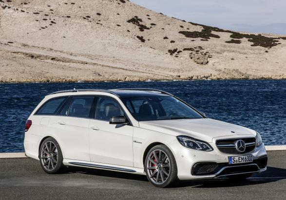 Nuova Mercedes E 63 AMG my 2013 Station Wagon