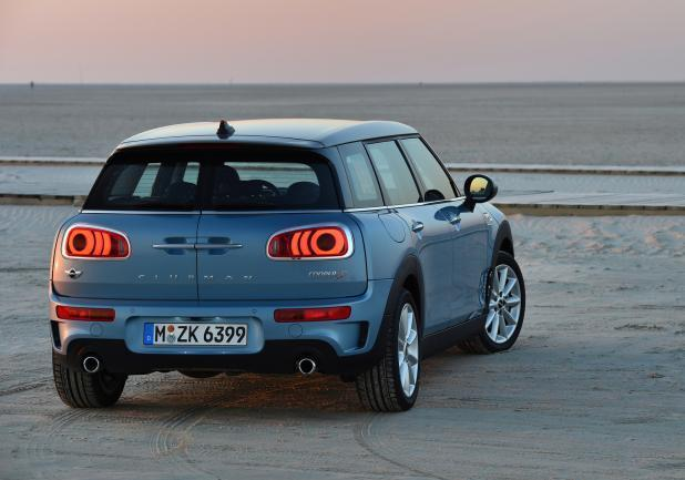 Nuova Mini Clubman ALL4 posteriore
