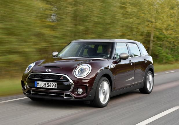 Nuova MINI CLUBMAN movimento