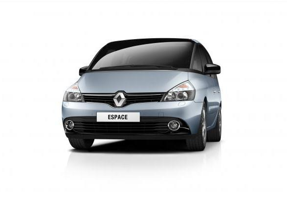 Nuova Renault Espace restyling 2013 anteriore