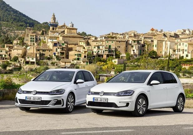 Nuove eGolf e Golf GTE