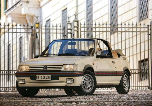Peugeot 205 Cabriolet frontale