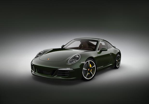 Porsche 911 Club Coupé tre quarti anteriore