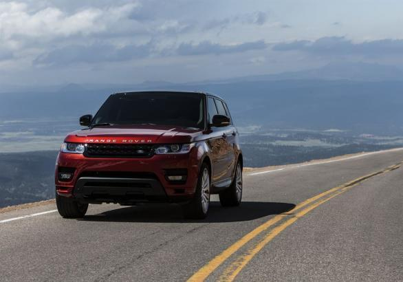 Range Rover Sport 5.0 V8 Supercharged anteriore