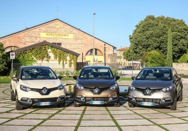 Renault Captur Iconic Excite frontale