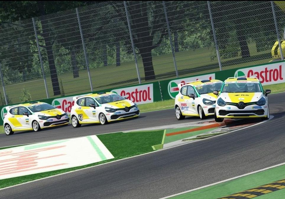 Renault Clio Cup virtuale 2020
